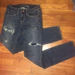 American Eagle Super Stretch Skinny Jeans - Size 2